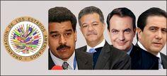 OEA programa recibir en Washington a mediadores dialogo con Venezuela