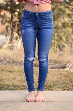 High-Waisted Light Wash Jeans   Threadlust