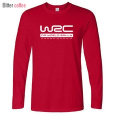 Check it on our site World Rally Car Champion T Shirts WRC The Game  2016 Autumn and winter O Neck Cotton Long sleeve Casual Tops Tees just only $13.08 with free shipping worldwide  #tshirtsformen Plese click on picture to see our special price for you