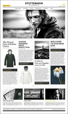 Stutterheim Raincoats Site