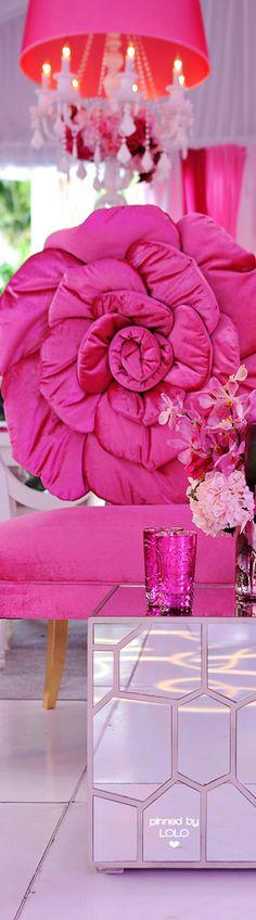 Hot pink decor   LOLO❤