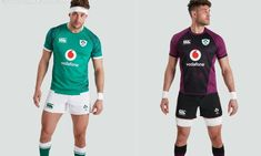 Ireland Rugby 2021/22 Canterbury Home and Away Kits