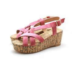 3aa6bda807d18 Suede Strap Wedge Sandals (Pink). More information. More information. Strapless  Push Up Bra