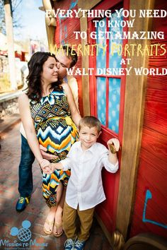 Everything you need to know for amazing maternity photos in Walt Disney World. Photography tips, best locations.