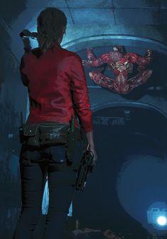 Resident Evil Remake, Resident Evil Girl, Resident Evil Nemesis, Video Game Art, Video Games, Moira Burton, Evil Games, The Best Films, Amazing Drawings