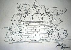 Cesta de morangos