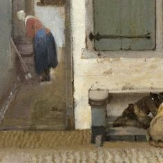 Johannes Vermeer - Artists - Explore the collection - Rijksmuseum  A very interesting detail from the painting.