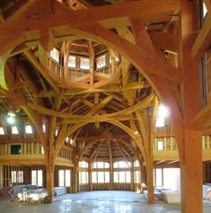 Timber Frame Raising & Construction | Photo Gallery: http://www.texastimberframes.com/galleries/images/timber-frame-raising/timber-frame-construction-truss-raising17.jpg?utm_content=buffer841a1&utm_medium=social&utm_source=pinterest.com&utm_campaign=buffer
