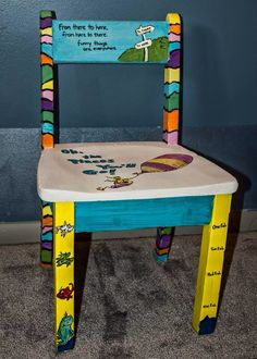 Superbe Dr. Seuss Kids Chair