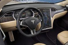 2017 Tesla Model 3 Dashboard