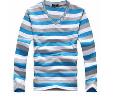 Buy TFGS arrival 2016 men's long-sleeved cotton stripes sweater fashion and hot pullover men brand new of Male Sweaters, Mens Fashion Sweaters, Casual Sweaters, Winter Sweaters, Sweater Fashion, Men Sweater, Men's Fashion, Fashion Brand, Fashion Styles