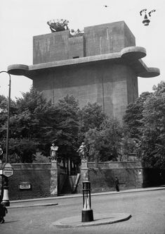 Hitler's flak towers were fortresses of Nazi military might Luftwaffe, Bunker, Berlin, Fascist Architecture, Flak Tower, Fortification, Medieval Castle, Places Around The World, World War Two