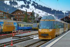 Zweisimmen by Jarda Novák - Photo 208261913 / Swiss Railways, Standard Gauge, Locomotive, Old Things, Explore, History, Country, Paths, Iron