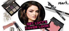 Get the .mark By Avon Brand Ambassador Lucy Hale brochure cover look! #AvonRep http://youravon.com/shortbus
