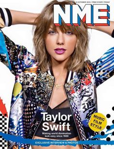 Taylor Swift on cover of NME Magazine.
