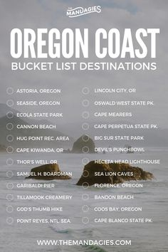 The perfect itinerary on the Oregon coast (and exactly where you can find the best places . - The perfect itinerary on the Oregon Coast (and exactly where you can find the best places) - Oregon Vacation, Oregon Road Trip, Oregon Travel, Travel Usa, Oregon Coast Roadtrip, Road Trips, Wyoming, Nevada, Illinois