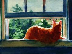 Online watercolor lessons - beginner tutorial - Learn to paint your pet tips ideas my secrets. $30.00, via Etsy.