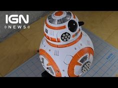 BB-8 Recreated with 3D Printing - IGN News - YouTube