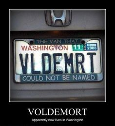 Yeah, we have a pretty cool state.  Even Voldemort knows it.