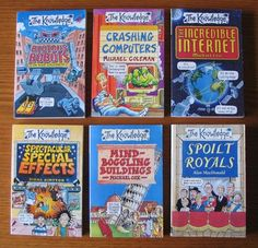 THE KNOWLEDGE children's books series is great for kids who prefer to read non-fiction books.  Many interesting topics.