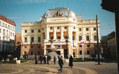 Narodne divadlo - National theatre in Bratislava