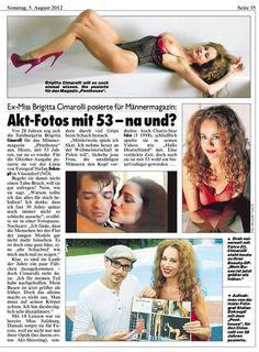 Shooting mit Brigitta Ciamrolli (Artikel in der Kronenzeitung) - Photographer Stefan Dokoupil
