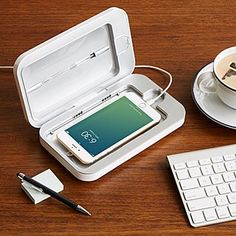 PhoneSoap Smartphone Sanitizer - clean your cell phone. No more germs. #germaphobe #cleaningtips #healthyliving Gifts For Nurses, Fathers Day Gifts, 30 Gifts, Tech Gifts, Birthday Gifts, Dad Birthday, Diy Gifts For Him, Thoughtful Gifts For Him, Holiday Gifts