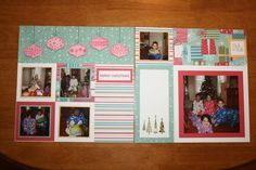 CTMH Jingle Christmas layout