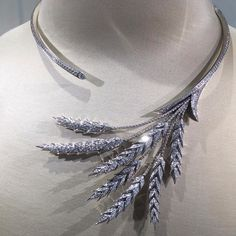Collar diamond By boucheron.