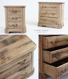 Pierre Cronje Swedish Bedside Pedestals