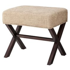 Threshold™ X-Stool.  Just put this on hold at Target to pick up tomorrow.  Extra seating for the living/family room.