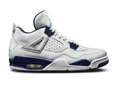 0c67fda647ddcf 314254-107 Air Jordan 4 Columbia (White Legend Blue-Midnight Navy) Shoes