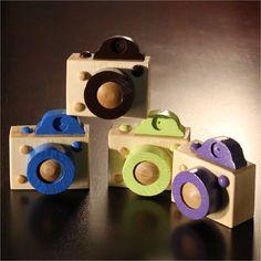 Wooden Digital Camera. $15.00, via Etsy.
