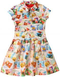 Oilily Imagine Spring 2015 Teenie Dress Polaroid Print