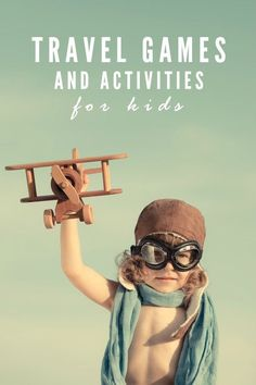 Travel Games and Activities for Kids -- The best gifts for traveling families with little ones!