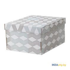 ИКЕА СМЕКА - Коробка с крышкой в Минске. Артикул: 603.147.19. Купить ИКЕА с…