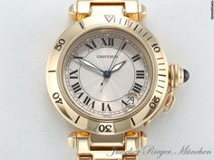 AU$14,324 Cartier PASHA 35 mm GELBGOLD 750 MEDIUM AUTOMATIK Gold