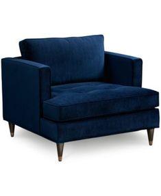 Suzette Glam Arm Chair | macys.com