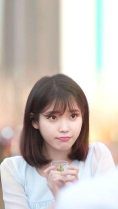 Iu hair image by moon - soon on wish I. Kpop Girl Groups, Kpop Girls, Korean Beauty, Asian Beauty, Icons Girls, Iu Hair, Iu Fashion, Hair Images, Korean Actresses