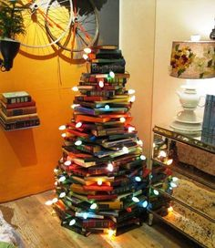 A book tree for Xmas
