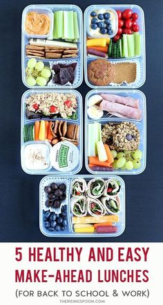 Healthy Lunches For Work, Cold Lunches, Make Ahead Lunches, Lunch Snacks, Healthy Snacks, Healthy Eating, Healthy Recipes, Healthy Lunch Boxes, Simple Healthy Lunch