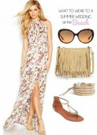Wedding guest: beach formal in 2018 | My Polyvore Finds | Pinterest ...
