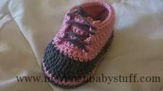 Crochet Child Booties TMK crochet: Free Crochet Sample Spherical-Up: Child Booties Crochet Baby Booties
