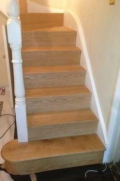 Our Staircase Is Complete! Open Treads With Glass Balustrade And Wrap  Around Steps. Read All About How We Designed And Built Our Beautiful  Staircasu2026