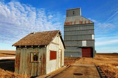 Goldenrod, Ks. ghost town.  Photo by Chris Harris