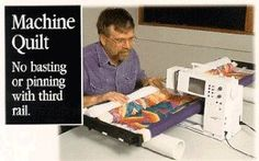"John Flynn's Portable Machine Quilting Multi Frame W/ 48"" RAILS"
