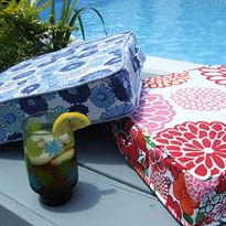 Summer Sewing ~ Perfectly Portable Cushion