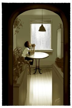 Yaoyao Ma Van As lived alone for eight years before getting married. She created a gorgeous series of illustrations about the magic of being on her own.