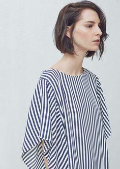 Dolman sleeve blouse   MANGO