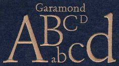 553 Garamond Satin Font - Jolsen's Designs